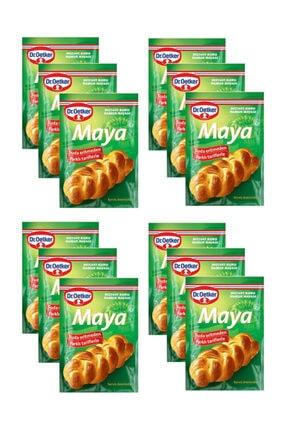 Dr. Oetker Instant Kuru Maya 10 gr x 12 Paket