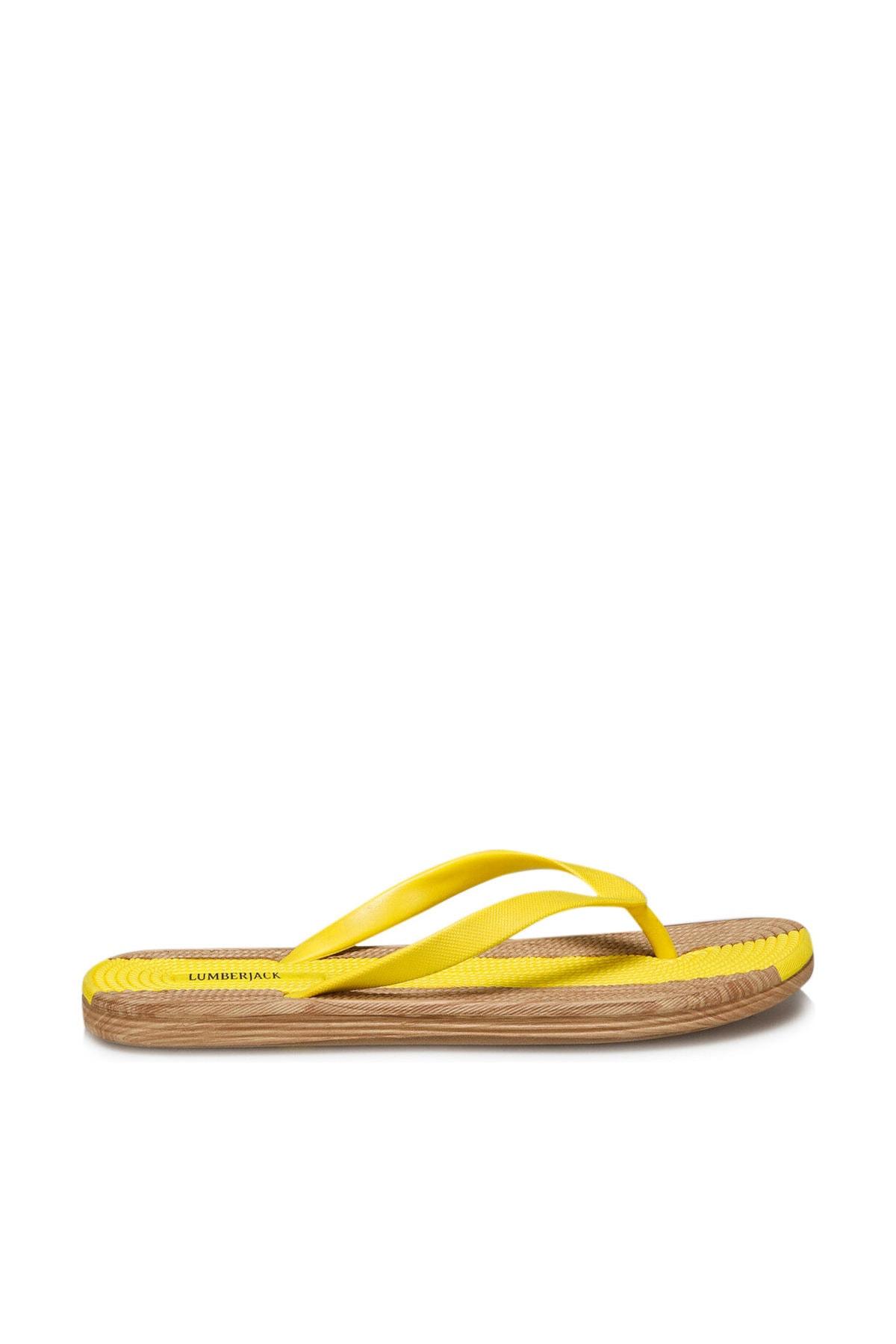 lumberjack WOODY Sarı Kadın Terlik 2