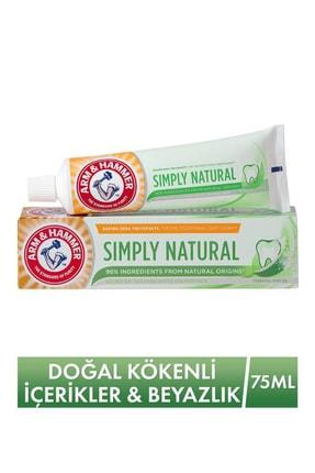 Arm&Hammer Doğal Kökenli İçerikler & Beyazlatıcı Diş Macunu - Simply Natural Toothpaste 75 ml