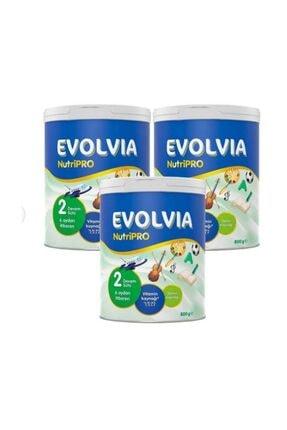 Evolvia Nutripro 2 800 Gr Bebek Maması 3lü Avantaj Paketi