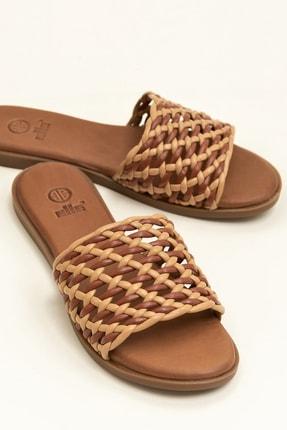 Elle Shoes MARENS Naturel/Multi Kadın Terlik