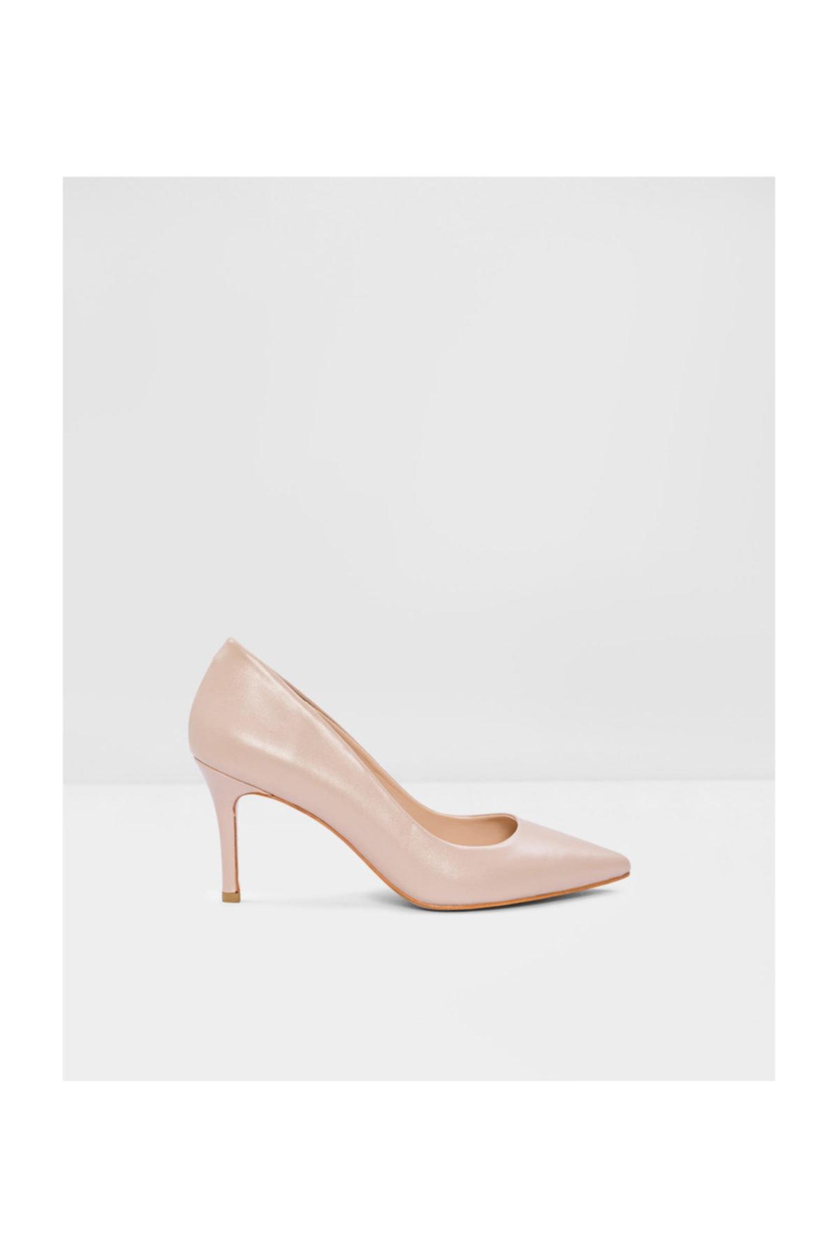 Aldo Kadın Naturel Hakiki Deri Klasik Topuklu Ayakkabı 111592 2