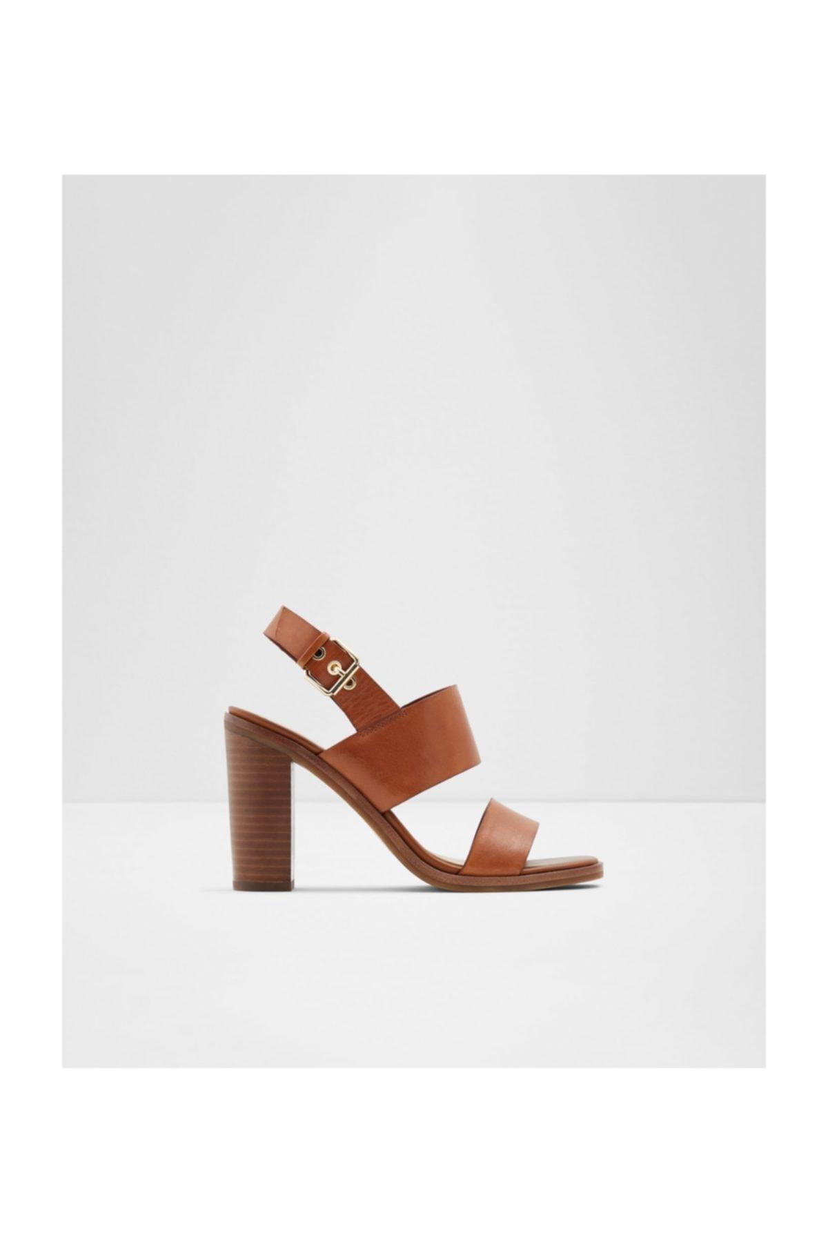 Aldo Kadın Taba Topuklu Sandalet 1