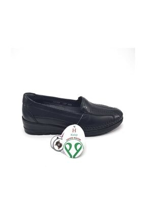 Forelli Anatomik Deri Siyah Ayakkabı 25182