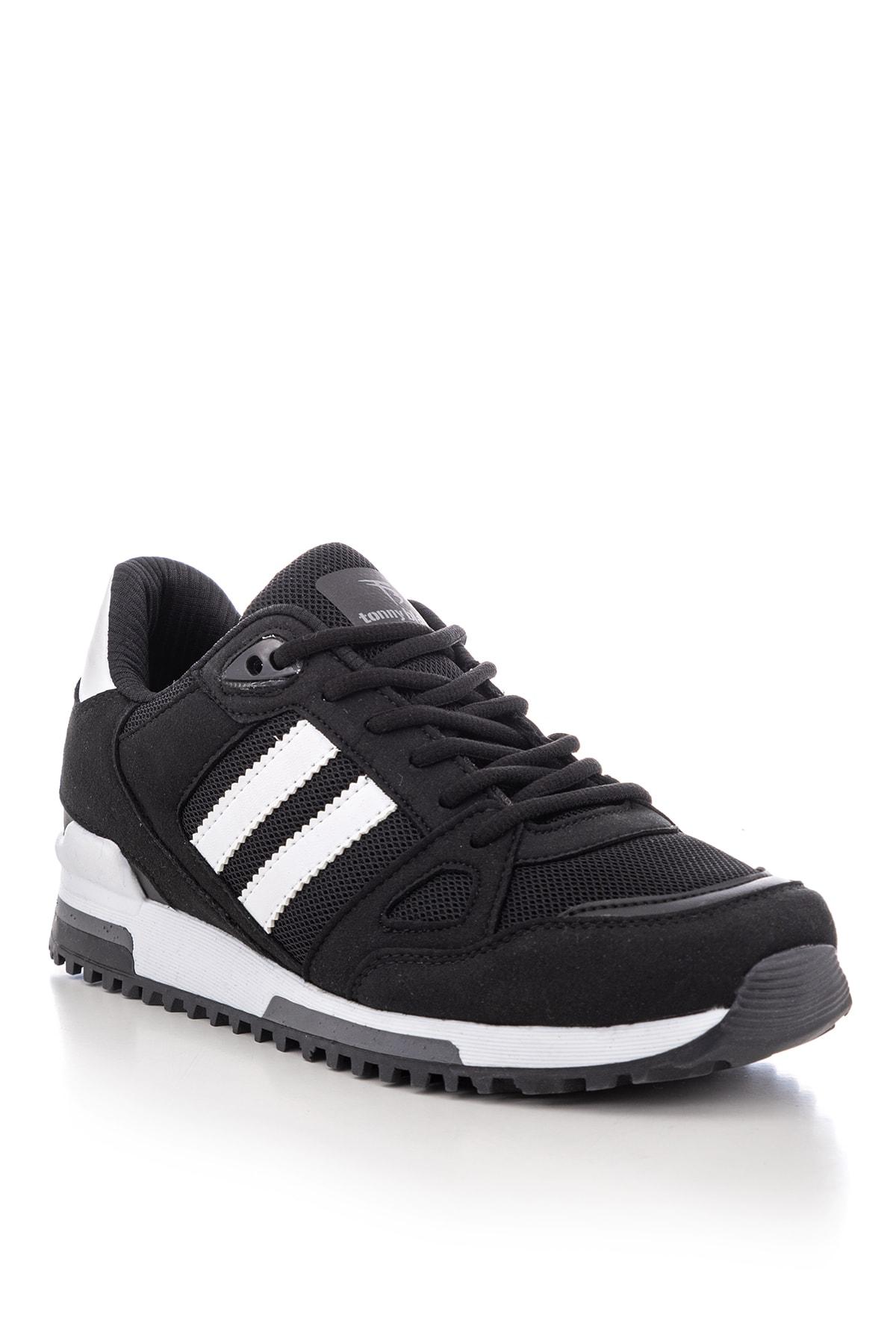 Tonny Black Siyah Beyaz Unisex Sneaker TB282-0