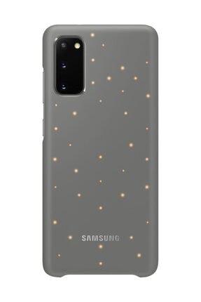 Samsung Galaxy S20 LED Kılıf Gri