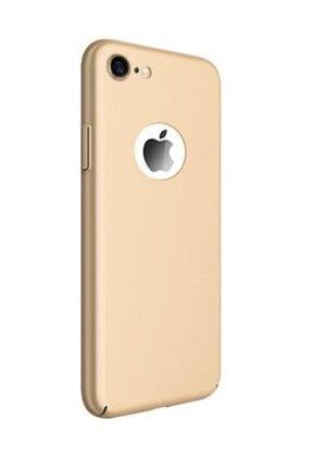 Joyroom Jr 378 Chi Series Apple Iphone 7-8 Plus Gold Için Sert Silikon Ultra Ince Kılıf Arka Kapak
