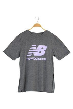 New Balance Spor T-Shirt - NB VOM TEE - V-WTT916-CHC