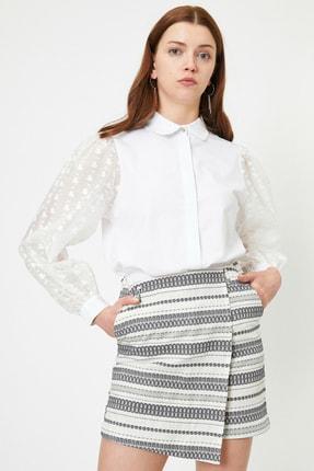 Koton Kadın Beyaz Bluz 0YAK68984PW