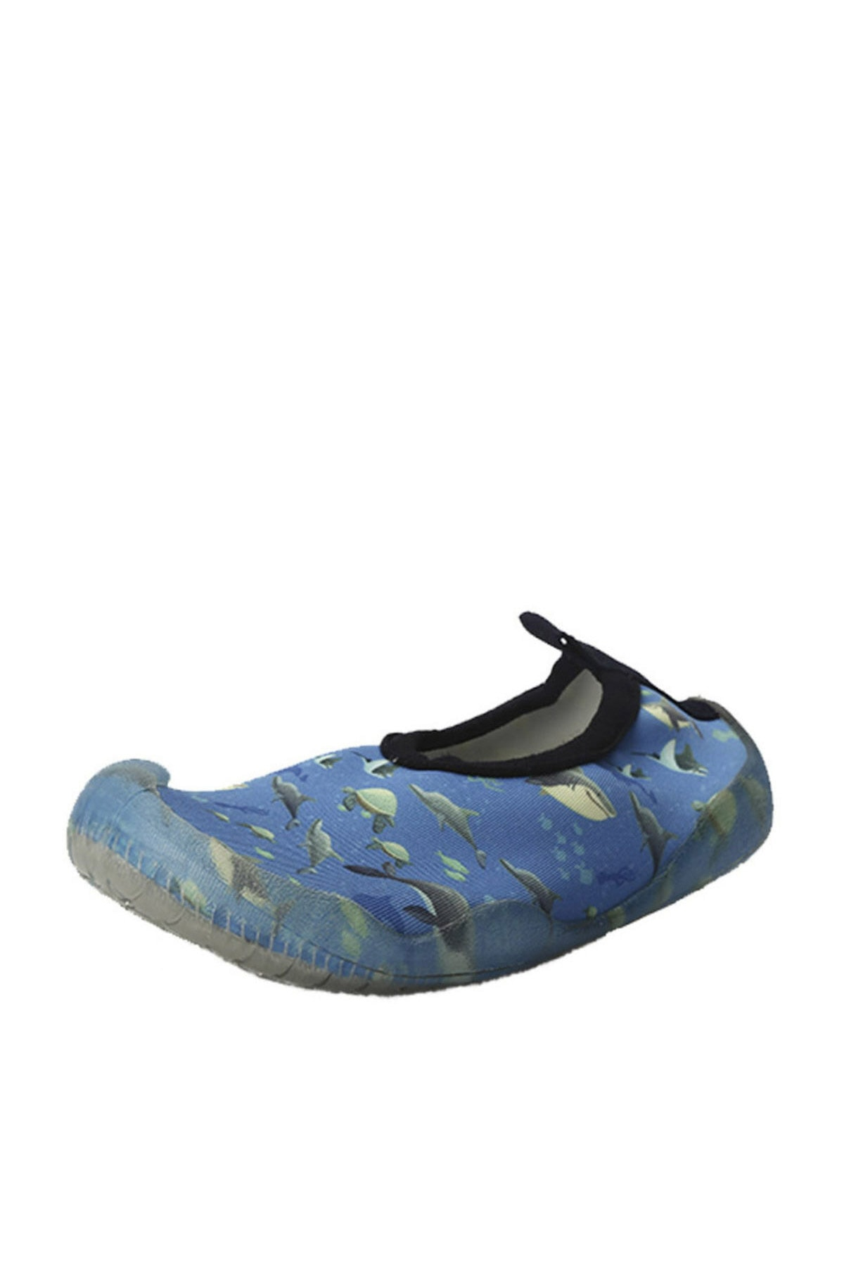 Newborn Erkek Çocuk Mavi Deniz Ayakkabısı 2