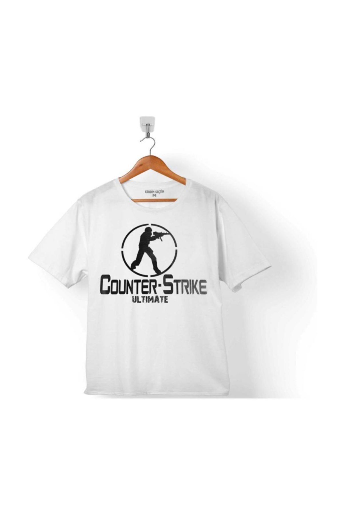 Kendim Seçtim Counter Strıke Cs Go Ultımate Gamer Oyuncu Çocuk Tişört 1