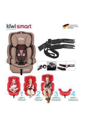 Kiwi Safe&Comfort Smart 9-36 Kg İsofixli Oto Koltuğu Kahve