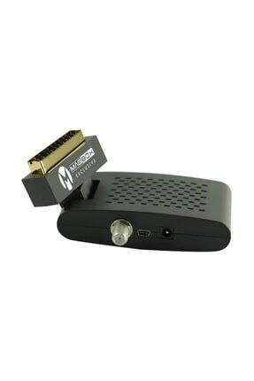 MAGBOX Exclusive Scart Girişli Tüplü Tv Uyumlu Mini Uydu Alıcısı Kanalları Hazır Yüklü