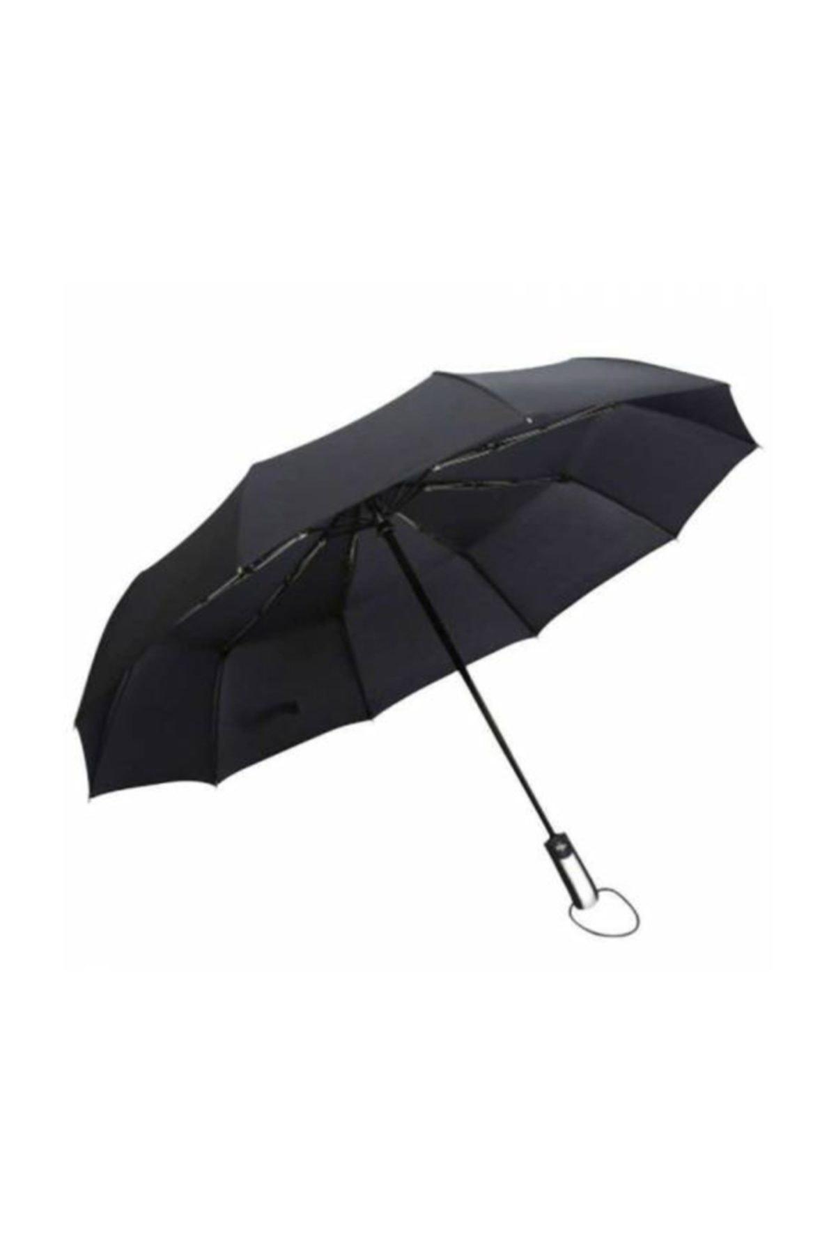 depoma consept Fiber 10 Telli Full Otomatik Şemsiye Rüzgara Dayanıklı 1