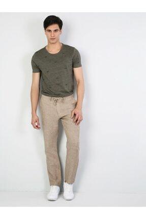 Colin's Regular Fit Orta Bel Düz Paça Erkek Camel Pantolon