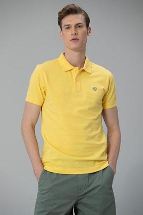 Lufian Laon Spor Polo T- Shirt Sarı