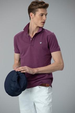 Lufian Laon Spor Polo T- Shirt Mor