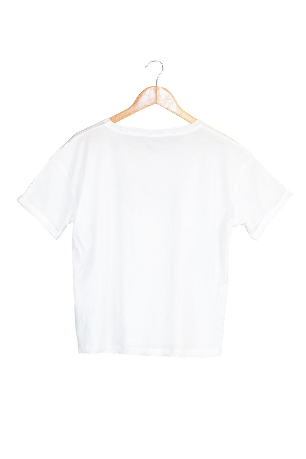 New Balance Spor T-Shirt - NB VOM TEE - V-WTT807-WT 2