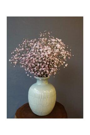 Kuru Çiçek Deposu Kuru Çiçek 1.kalite Şoklanmış Dökülmeyen Toz Pembe Cipso Demeti
