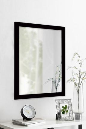 Tablo Center Siyah Çerçeveli Ayna 40cm X 50cm