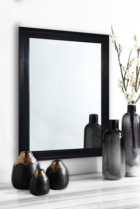Tablo Center Siyah Çerçeveli Ayna