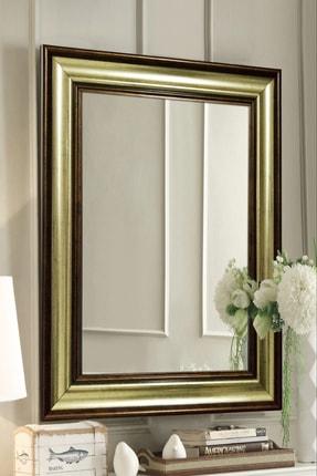 Tablo Center Altın Kahve Çerçeveli Ayna 45 X 60 cm
