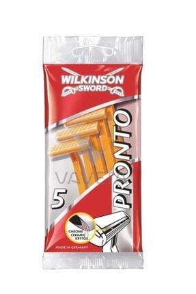 Wilkinson Sword Pronto Tek Bıçaklı 5'li Kullan At Tıraş Bıçağı