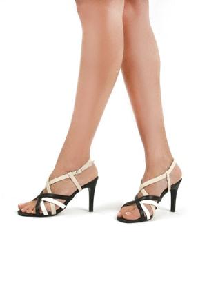 Gökhan Talay Siyah Kadın Klasik Topuklu Ayakkabı 17810101