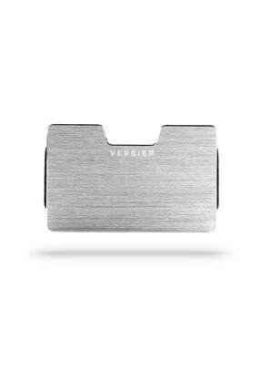 VERBIER Verbier Metal Kredi Kartlık Cüzdan - Rfıd