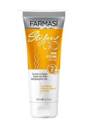 Farmasi Farması Style'n Go Kıvırcık Saçlar İçin Bakım Kremi 200 ml