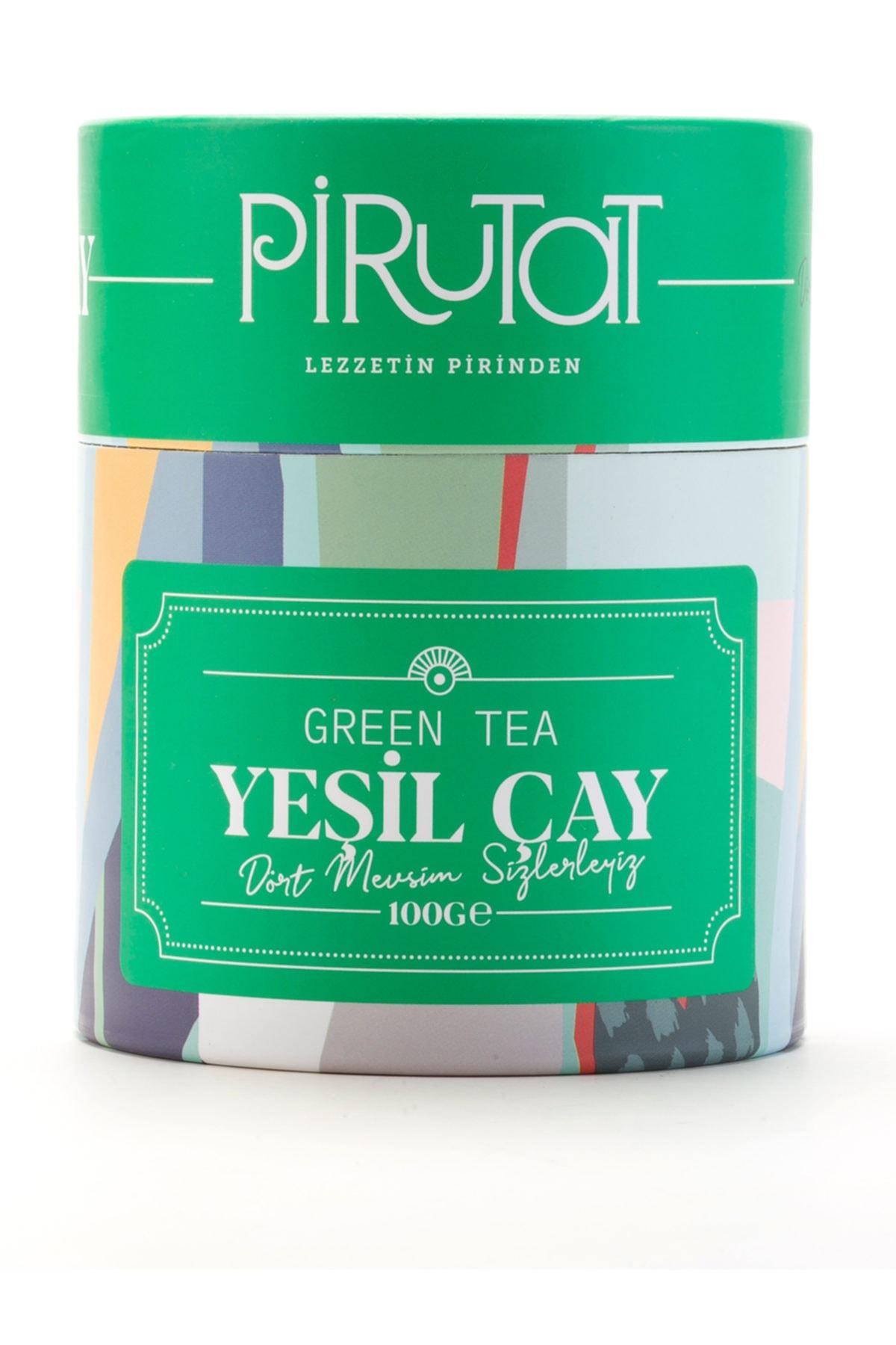 pirutat Yeşil Çay 100 gr Özel Tasarım Kutu 1