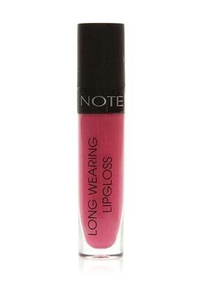 NOTE Uzun Süre Kalıcı Dudak Parlatıcısı - Long Wearing Lipgloss 13 Natural Pink 8680705324131