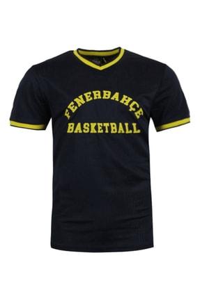 Fenerbahçe Erkek Fenerbahçe 19/20 Basketbol File T-Shirt TK010E9S25