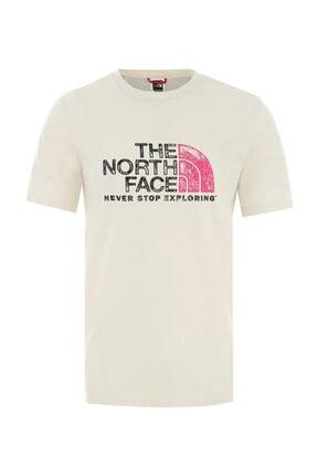 THE NORTH FACE Nf0a4m68l0e1 Beyaz Erkek T-shirt