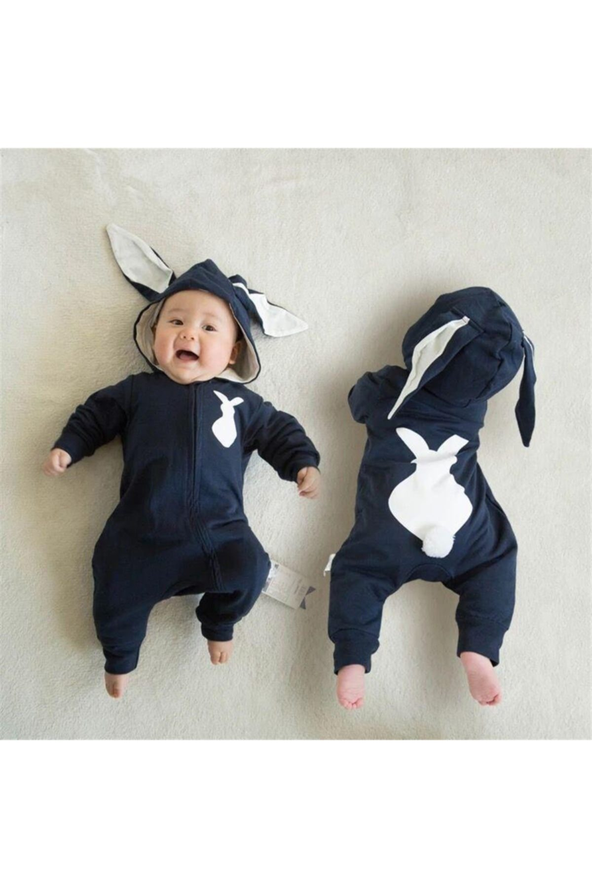 Bebe Tavşanlı K Tulum Lacivert 1