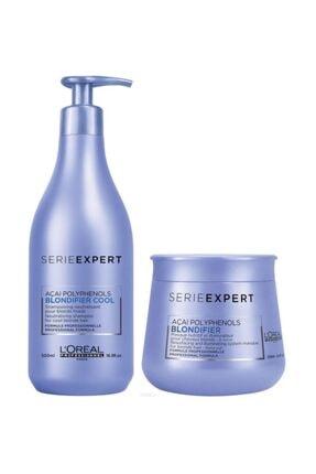 L'oreal Professionnel Blondifier Soğuk Sarı Saçlar Için Şampuan 500 Ml Ve Maske 250 Ml