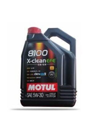 Motul Motor Yağı 8100 X-clean Efe  5.30 4lt