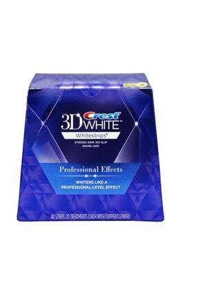 CREST 3D White Professional Effects Diş Beyazlatma Bantları (1 Kutu / 40 Bant)