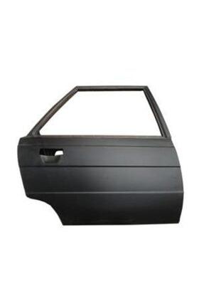 Renault R9- Broadway- 93/96; Arka Kapı Komple Sağ Menteşeli Siyah Boyalı (iceli/çekomastikli)
