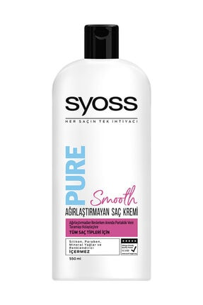 Syoss Syoss Pure Saç Kremi 550Ml
