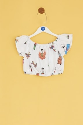 BG Baby Bebek Desenli Bluz