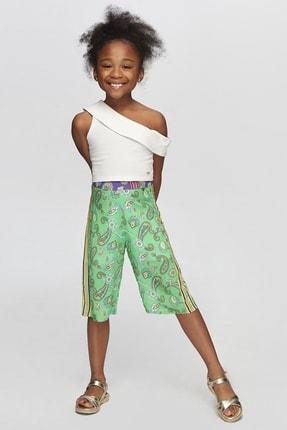 Tyess Kız Çocuk Beyaz Bluz