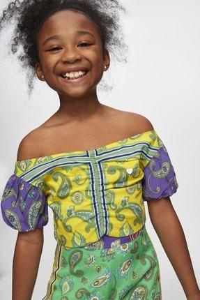 Tyess Kız Çocuk Desenli Bluz