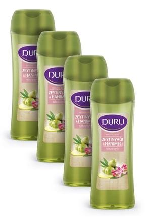 Duru Natural Olive Hanımeli Duş Jeli 450ml 4'lü Fırsat Paketi