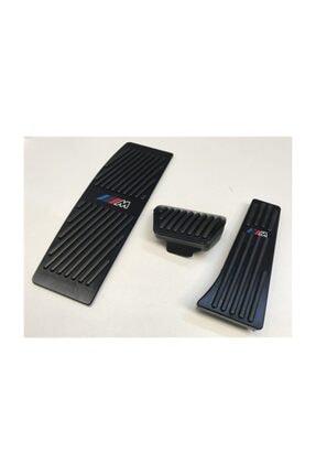 REPLAX Bmw 3 Serisi F30 Otomatik Vites Pedal Seti Geçmeli Siyah Pty722