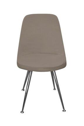 KILIFSAN Fransız Pamuklu Vizon Retro Sandalye Kılıfı