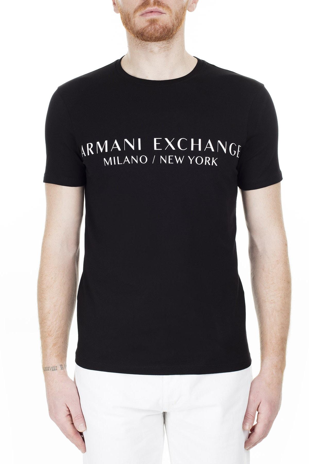 Armani Exchange T Shirt Erkek T Shirt 8Nzt72 Z8H4Z 1200