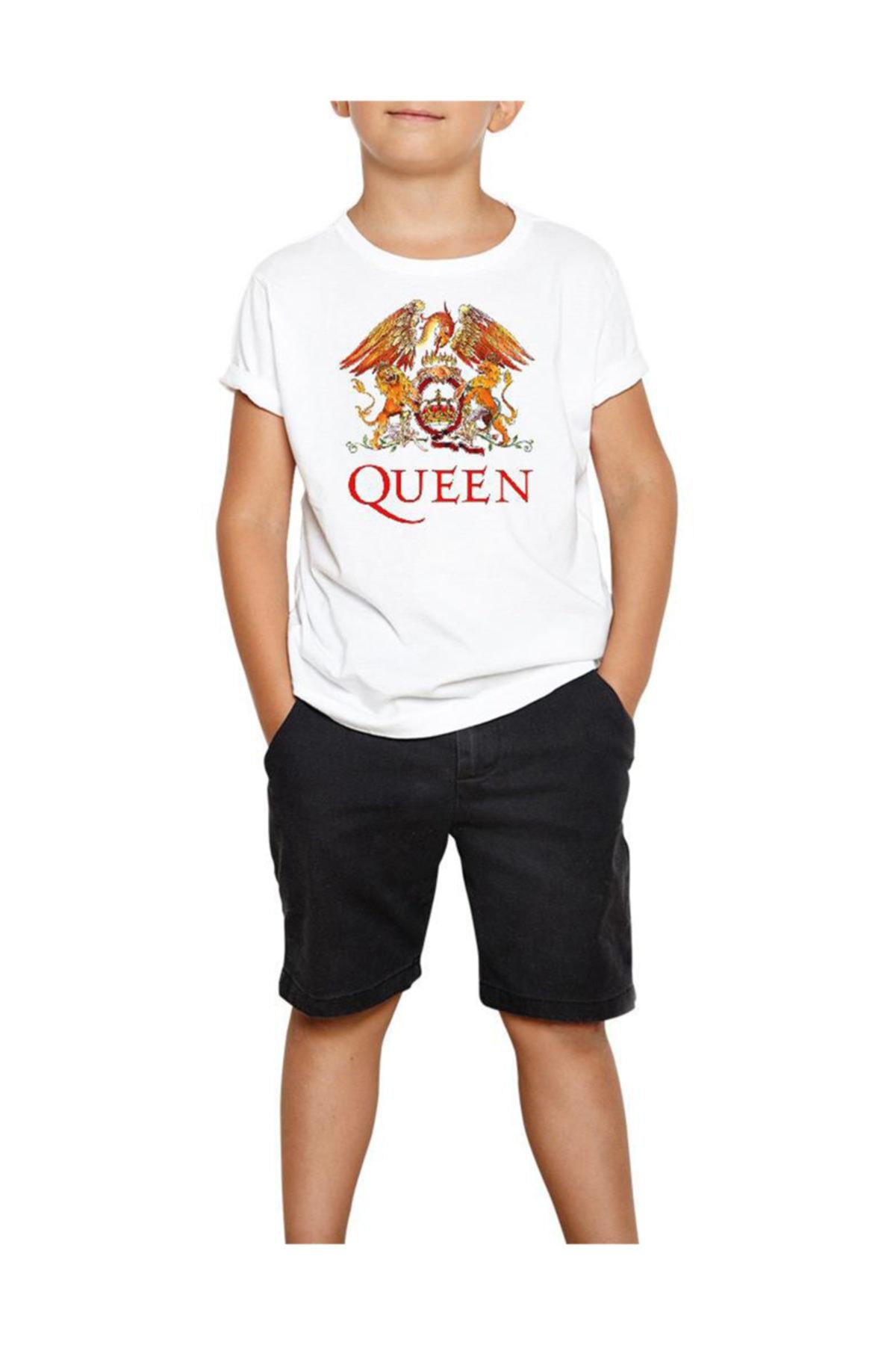 Zepplin Giyim Erkek Beyaz Çocuk Tişört 1