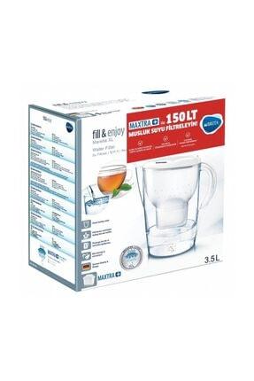 BRITA Brita Marella Xl Beyaz Su Arıtmalı Sürahi - Maxtra + Plus Filtreli