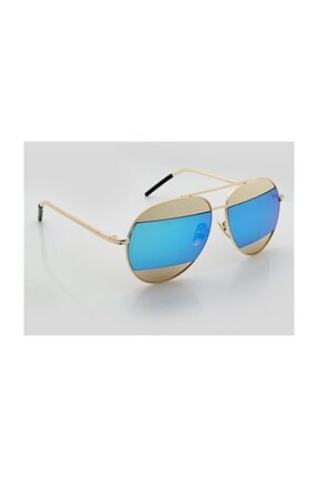 Golf Club Kadın Oval Güneş Gözlüğü GK042SARILACIVERT-T1